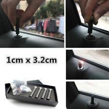 4pcs Carbon Fiber Car Truck SUV Door Lock Modified Door Pin Knob 1cm x 3.2cm