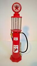 Texaco Fire Chief Gasoline 1920 Wayne Gas Pump Replica Coin Bank Red Limited