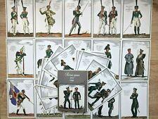 1987 Set 32 Russian Army in Napoleonic War 1812 #1 Uniform Military postcard