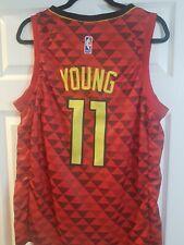 Mens. Atlanta Hawks Trae Young. Nike Vaporknit Stitched Jersey size 48 (large)