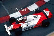 John Watson McLaren MP4B Monaco Grand Prix 1982 Photograph 2
