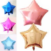 5pcs 10 inch Balloon Wedding Star Aluminum Foil Balloons Birthday Party Decor