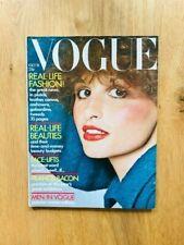 Vogue UK October 15th 1971 Van Ravenstein Knapp Bennett Gotlib Bacon Huston