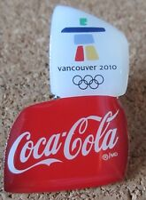 2010 Vancouver Olympic logo pin CocaCola sponsor new