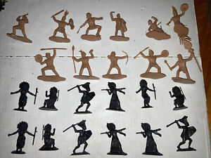 23 Reamsa Publius  Aztec Aztecs Toy Soldier  Warriors Archer 1/32 54mm 60mm