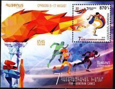 ARMENIA 2019-13 SPORT: 7th Pan-Armenian Games. Light Athletics, MNH