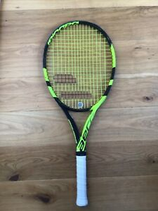 Babolat Pure Aero Team Tennis Racket. Grip 1. New Restring. ONE DAY LISTING!..