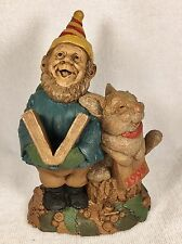 Andy Happy New Yr-R 1996~Clark/Wolfe Gnome~#6315~Ed #39~Coa~Signed by Both~Story