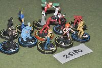 25mm scifi / hero clix - super heroes 12 figures - inf (25180)