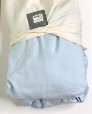 Restoration Hardware Vintage-Washed Linen Box Spring Cover King Thistle NEW $109