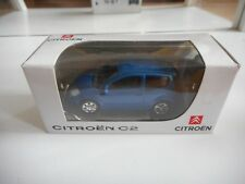 Norev Citroen C2 in Blue on 1:64 in Box