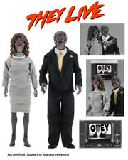 """They Live 8"""" Clothed Alien 2 Pack Action Figures 161NE201"""