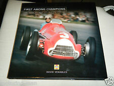 FIRST AMONG CHAMPIONS ALFA ROMEO GRAND PRIX VENABLES 158 159 6C 8C 512 BT46 B F1