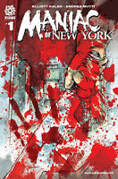 Aftershock Comics Maniac of New York #1 Comic 2nd Printing Cvr A Andrea Mutti NM