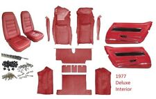1977 Corvette Interior Package. ( Carpet, Seat Covers and Kit, & Door Panels)