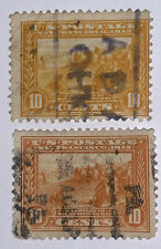 Travelstamps: 1913 US STAMPS SCOTT#400-400a Used NG San Francisco Bay