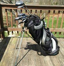 Nice Mens Complete Golf Club Set & Bag, Callaway, Ping, Adams