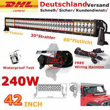 42inch 240W Led Arbeitsscheinwerfer Offroad Scheinwerfer Flutlicht 12v SUV 4x4