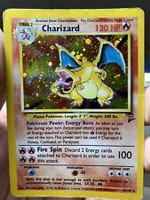 Charizard Holo 4/139 Base 2 Unlimited Pokemon Card PL