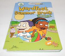 Leap Frog LeapPad Plus Writing All Grown Up Wordfest Summer Break Book 2 NO CART