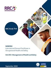 RRC Study Text: NEBOSH International General Certificate: Complete: NEW Spec