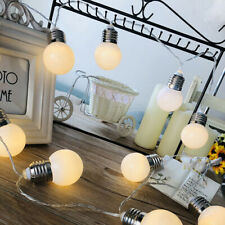 LED Wedding Chain Fairy Bulb Fairy String Lights For Xmas Home Garden Garland