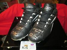 Reid Brignac Signed SPIKE SHOE Certificate authentic game worn KTS sample 12 1/2