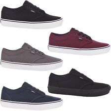 Vans Mens Atwood Low Top Casual Canvas Trainers Sneakers Shoes