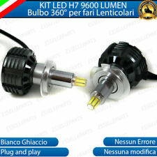 KIT FULL LED H7 6000K CANBUS LED PER LENTICOLARI FORD FIESTA MK6 VI NO ERROR