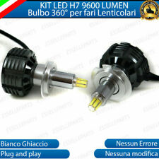 KIT FULL LED H7 6000K CANBUS LED PER LENTICOLARI FIAT PUNTO MK2 II NO ERROR