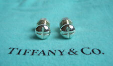 TIFFANY & CO. STERLING SILVER NUT AND BOLT CUFF LINKS!