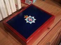 Wiltshire Police Premium Medals and Memorabilia Box, Fantastic Gift,