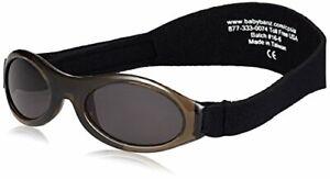 Baby Sunglasses Baby Banz AGES 0-2 w Bubzee Wrap Around Lapis Blue