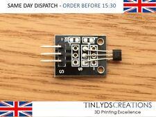 Módulo sensor magnético de efecto Hall KY-003 DC 5 V para Arduino Pic Avr Smart Car de