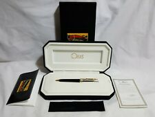 Omas Arte Italiana Paragon Mezzo Collection Pen w/ 18K Gold 925 Sterling Vermeil