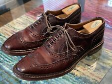 Allen Edmonds McTavish Brown Brogue Dress Shoes 9.5D