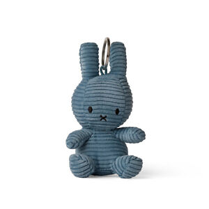Nijntje & Miffy Schlüsselanhänger Bon Ton Toys Cord sitzend aviator blau 10 cm