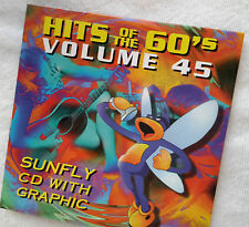 Karaoke cd+g disc Sunfly Hits Vol 45, see Descript 15 tracks/artists