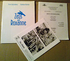 Press kit~ ZEUS AND ROXANNE ~1997 ~Miko Hughes ~Majandra Delfino ~Jessica Howell