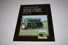 Great Plains Solid Stand 7 Amp 10 No Till Drill Sales Brochure