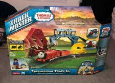 Thomas Train TrackMaster Troublesome Traps Set w/ 2 Trains Rickety Bridge
