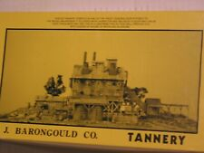 Fine Scale Models - Barongould Tannery - Kit #250 - Ho scale