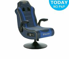New X-Rocker Adrenaline VII Gaming Chair - Blue in original Box
