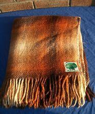 More details for vintage irish wool blanket/travel rug,connemara ireland,early 60's,57
