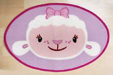 DOC MCSTUFFINS HUGS SHAPED RUG LAMBIE MAT CARPET KIDS CHILDRENS BEDROOM GIRLS