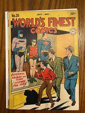 World's Finest 35 Batman Superman Robin 1948 Golden Age
