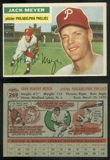 (49606) 1956 Topps 269 Jack Meyer Phillies-VGX