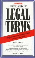 Dictionary of Legal terms by Gifis, Steven H.