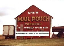 Mail Pouch Tobacco Barn PHOTO Sign, Chewing Tobacco Ad, Abandoned Ohio Farm