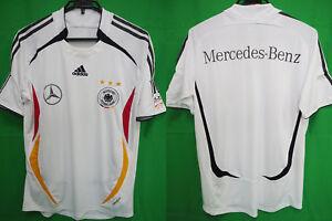 2006-2007 Germany Deutschland Jersey Shirt Trikot Mercedes Benz FIFA World Cup M
